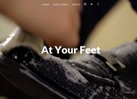 at your feet